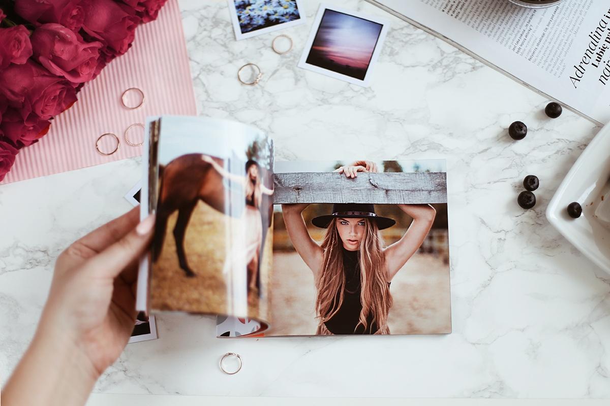 mini portfolio dla fotografów moonylab