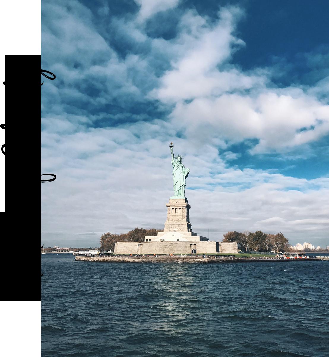 usa nowy jork statua wolności