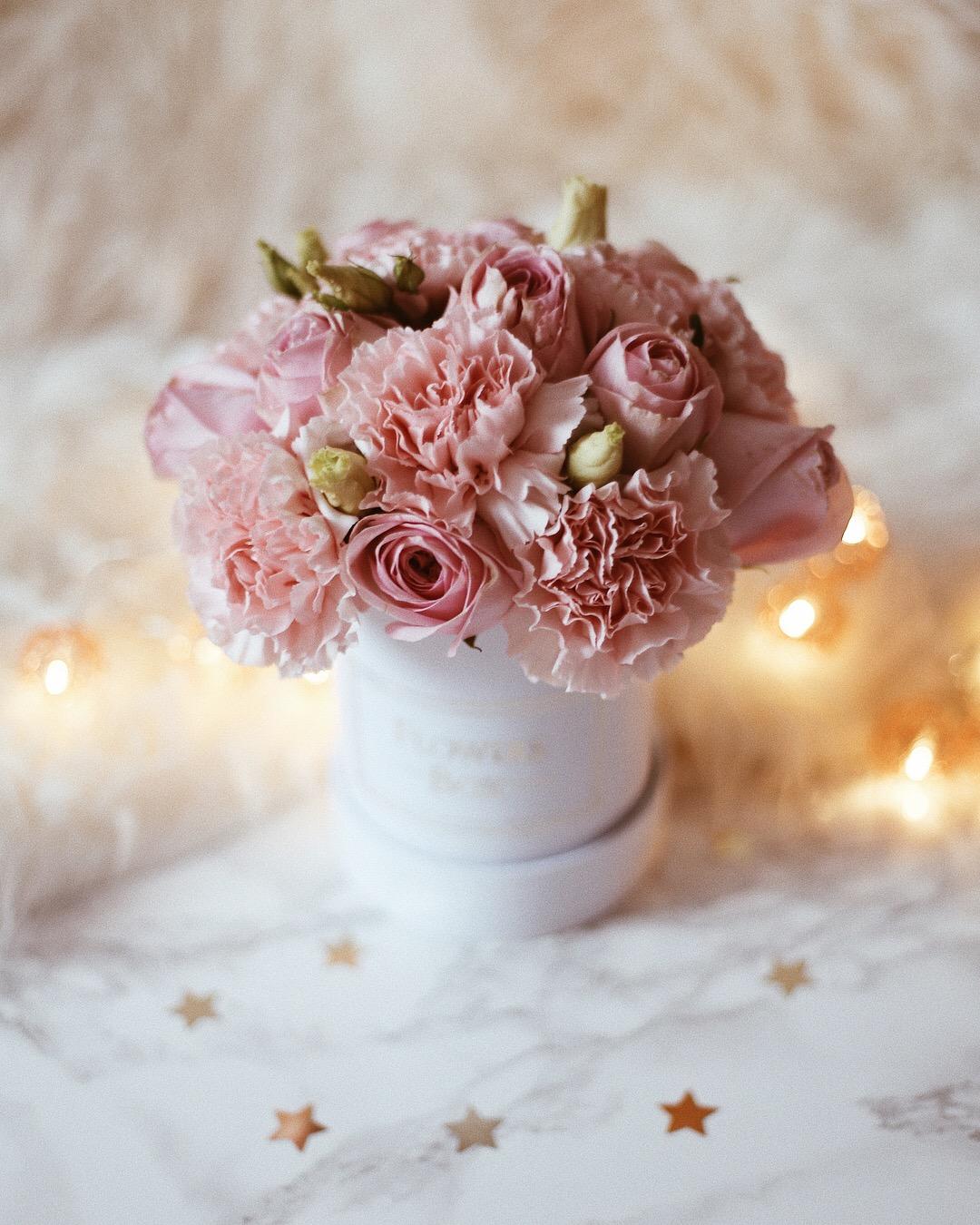 prezenty walentynkowe flowers box